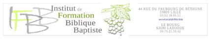 Institut de Formation Biblique Baptiste